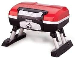 best gas grill - Cuisinart CGG-180T Petit Gourmet Portable Tabletop Gas Grill, Red