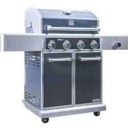 best grill - KENMORE ELITE 4 Burner Grill plus Side Burner