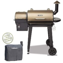 best grills -Cuisinart CPG-4000 Wood BBQ Grill & Smoker Pellet Grill and Smoker