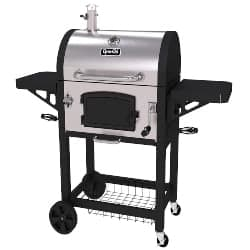 best grills - Dyna-Glo DGN486SNC-D Heavy Duty Stainless Charcoal Grill
