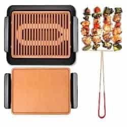 best grills - GOTHAM STEEL Smokeless Electric Grill