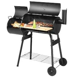 best grills - Giantex BBQ Grill Charcoal Barbecue Grill Outdoor Pit Patio Backyard Home Meat Cooker Smoker with Offset Smoker