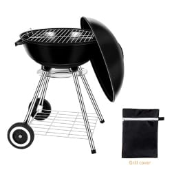 best grills - Miady 18-Inch Portable Kettle Charcoal Grill