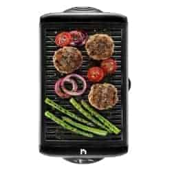 best grills - New House Kitchen Electric Smokeless Indoor Large BBQ Griddle