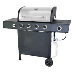 best grills - RevoAce 4-Burner LP Gas Grill with Side Burner