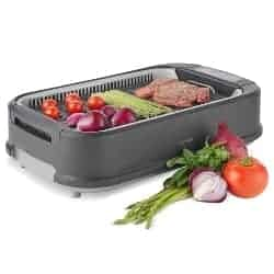 best grills - VonShef Electric Smokeless Indoor Grill
