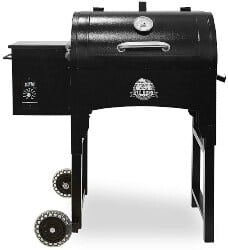 Pellet Grills - Pit Boss Grills PB440TG Pit Boss 440 Sq In Portable Wood Folding Legs Pellet Grill, Black