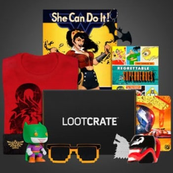 best subscription boxes for men - loot crate