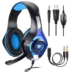gaming accessories - BlueFire Professional 3.5mm PS4 Gaming Headset Headphone with Mic