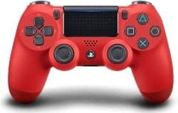 gaming accessories - DualShock 4 Wireless Controller for PlayStation 4 - Magma Red