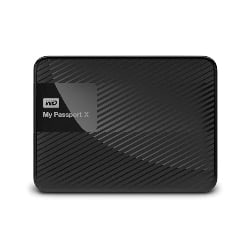 gaming accessories - WD 2TB My Passport X for Xbox One Portable External Hard Drive