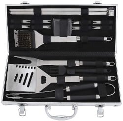 manly gifts - 19PCS BBQ Grill Tools Set