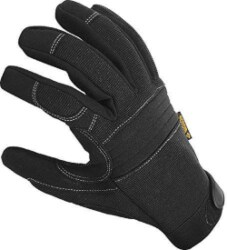 manly gifts - Durable Padded Work Gloves with Anti Vibrant Firm Grip