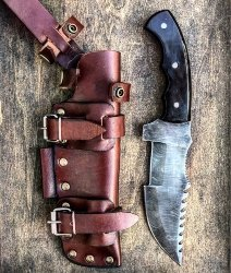 manly gifts - Survival Knife With Leather Sheath