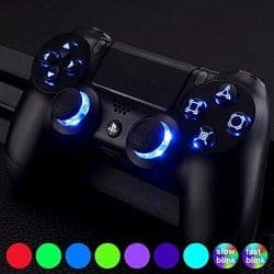 ps4 accessoreis - eXtremeRate Multi-Colors Luminated D-pad