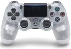 ps4 accessories - DualShock 4 Wireless Controller for PlayStation 4 - Crystal