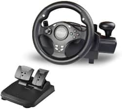 xbox one accessories - DOYO 270 Degree Rotation Pro Sport Racing Wheel for Multi Platform Compatible PS3_PS4_XBOX ONE_XBOX360_NS SWITCH_Android