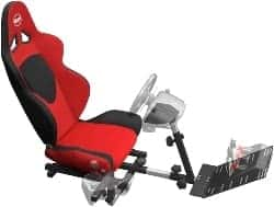 xbox one accessories - OpenWheeler GEN2 Racing Wheel Stand Cockpit Red on Black _ Fits All Logitech G29 _ G920
