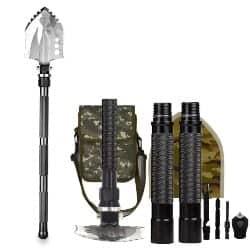 Best EDC Gear - BAALAND Folding Camp Shovel Portable Survival Gear