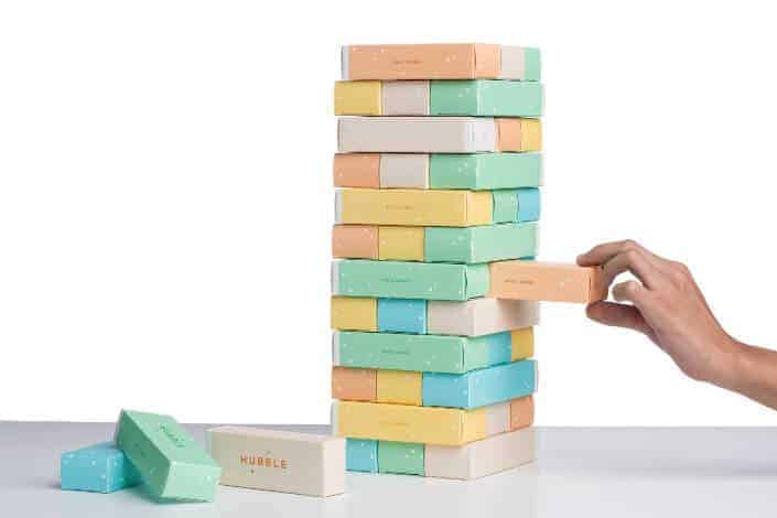 27 Best Fun Icebreaker Games-Jenga questions