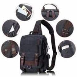 Best EDC Gear - Leaper Retro Messenger Bag Canvas