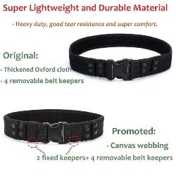 98. YAHILL Security Tactical Belt