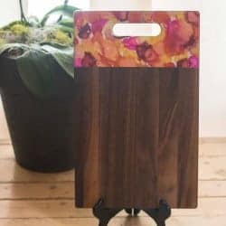 Hand Painted Wooden Cutting Board 3