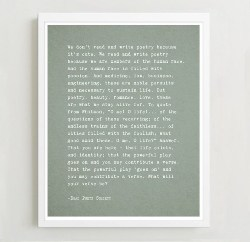 gifts for man who have everything - Dead Poets Society Quote Inspirational Wall Art