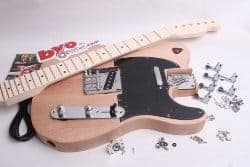 gifts for men who have everything - BYOGuitar Tele Style Guitar Kit