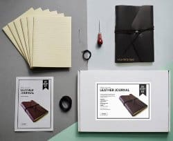 gifts for men who have everything - Bookbinding kit