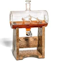 gifts for men who have everything - Bourbon Whiskey Decanter
