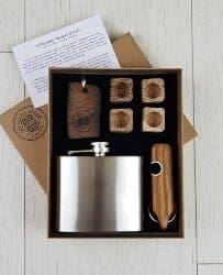 gifts for men who have everything - Irish gift box for whiskey lovers