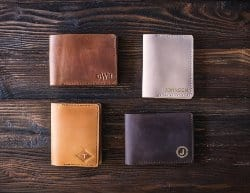 gifts for men who have everything - Leather wallet
