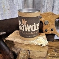 gifts for men who have everything - Mr. Sawdust for the Woodworking Man