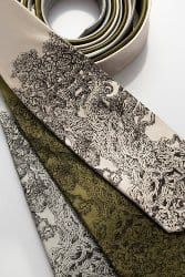 gifts for men who have everything - SILK Gnarled Tree Necktie