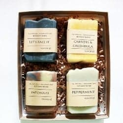 gifts for men who have everything - Soap Gift Set