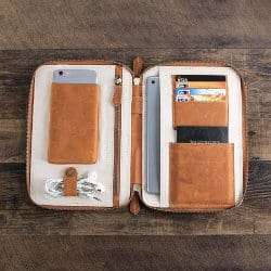 gifts for men who have everything - Travel Wallet