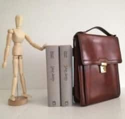gifts for men who have everything - real leather briefcase