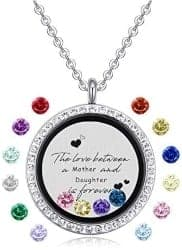 gifts for mom - Floating Charms Memory Locket