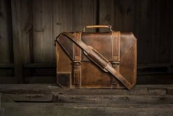 real leather briefcase (1)