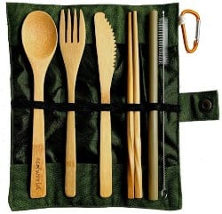 Bamboo Cutlery Set (1)
