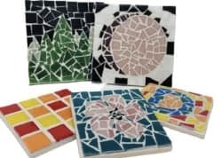 D.I.Y mosaic coaster (1)