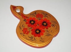 Hand-painted wooden cutting board (1)