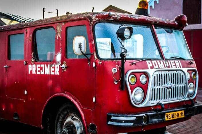 corny jokes-fire truck