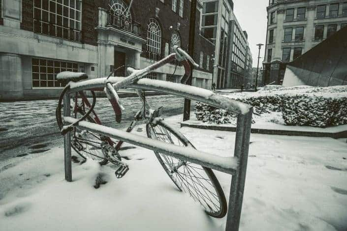 bad dad jokes - Why couldn't the bicycle stand up by itself_ It was two tired!