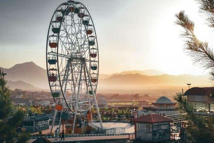 birthday ideas for wife-Hit the amusement park and feel young again.