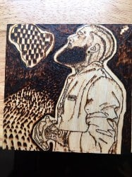 Rare Pyrography Art (1)