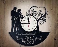 Wall Clock Bedroom Light (1)