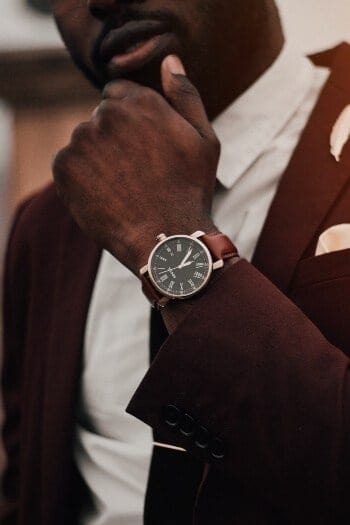 Why Every Man Needs to Wear a Wristwatch - One minimal watch goes with every look