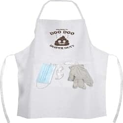 christmas gifts for dads-Daddy's Doo Doo Diaper Duty Apron Kit (1)